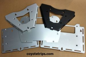 Motorcycle Top Case Adapter Plates