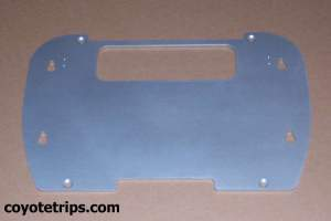 Motorcycle Top Box Adapter Plate