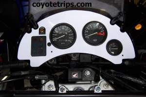 Africa Twin Dashboard RD04