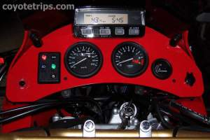 Africa Twin Dashboard