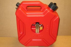 Motorcycle and ATV Spare Fuel Can 5 Liters