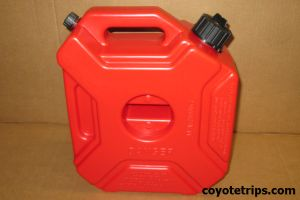 Motorcycle and ATV Spare Gas Can 5 Liters