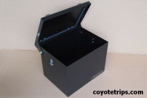 Motorcycle Aluminum Top Box